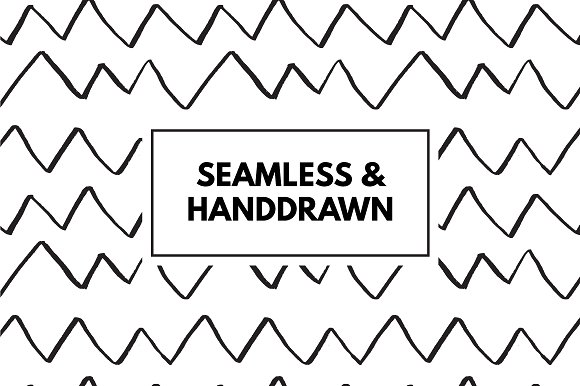30 Simple Seamless Patterns Graphic Patterns By Favete Art - Image 3