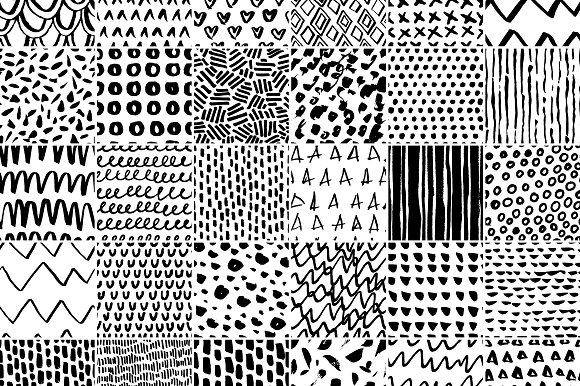 30 Simple Seamless Patterns Graphic Patterns By Favete Art - Image 8