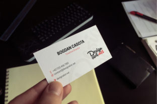 5 Business Cards Mockups Graphic By Design A Lot
