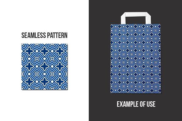 50 Seamless Patterns Graphic Patterns By Favete Art - Image 3