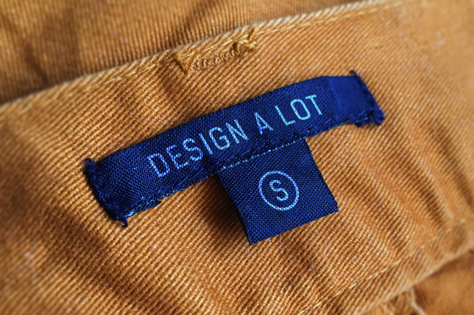 Print on Demand: 7 Jeans and Pants Label Mockups Graphic Product Mockups By Design A Lot