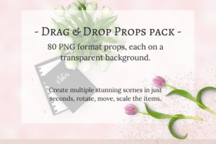80 Drag & Drop Props Pack Graphic Product Mockups By Brand
