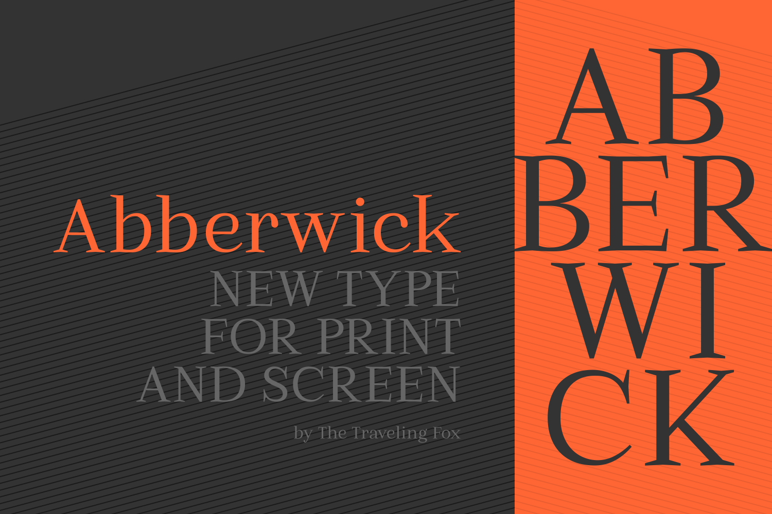 Print on Demand: Abberwick Serif Fuente Por The Traveling Fox