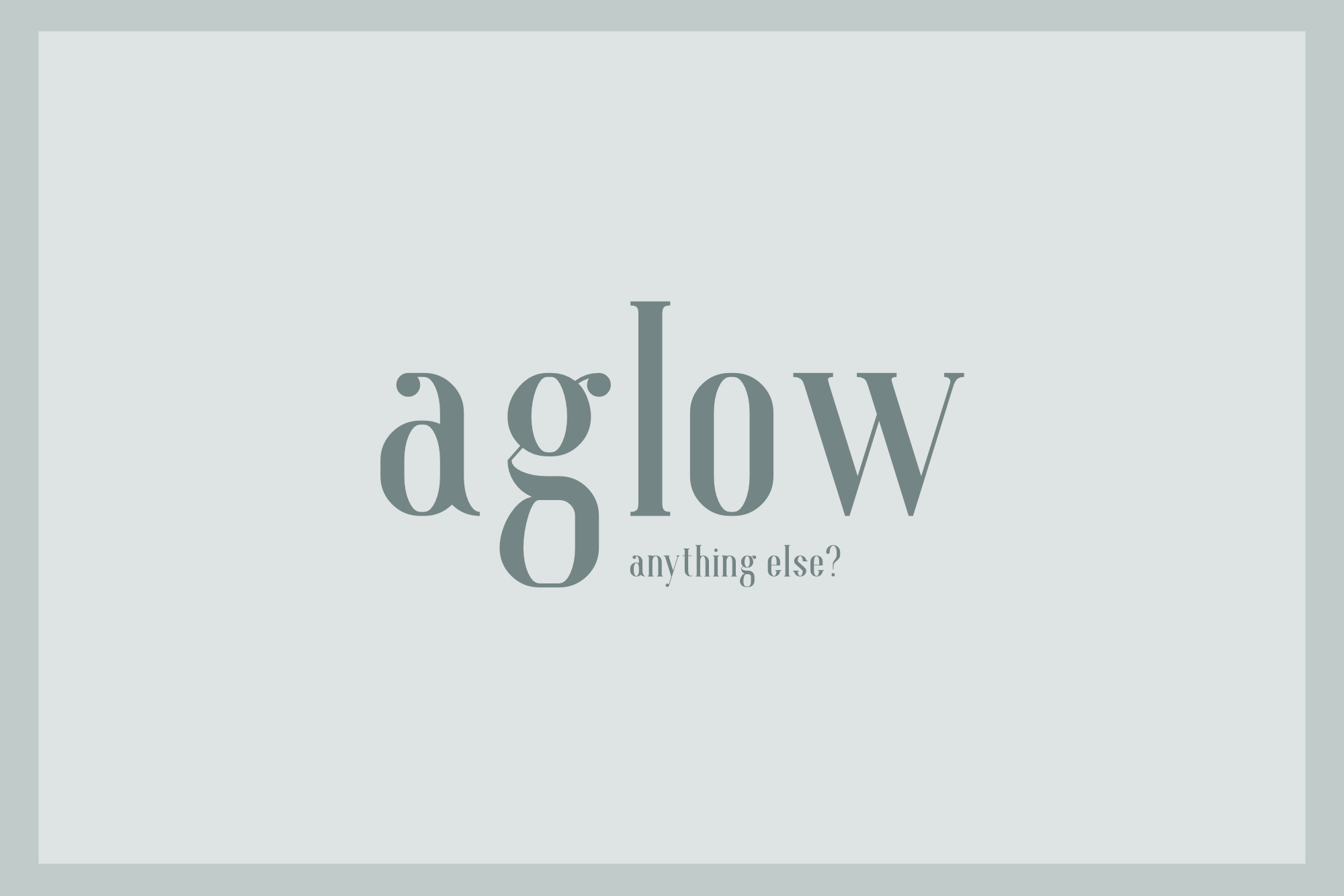 Print on Demand: Aglow Serif Font By Sameeh Media