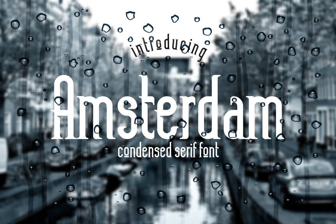 Print on Demand: Amsterdam Serif Font By NREY