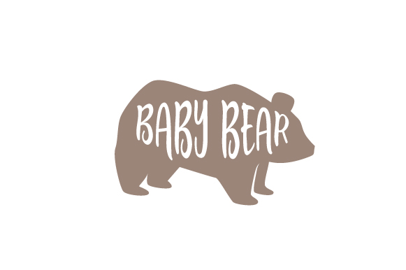 Baby Bear Kids Craft Cut File By Creative Fabrica Crafts