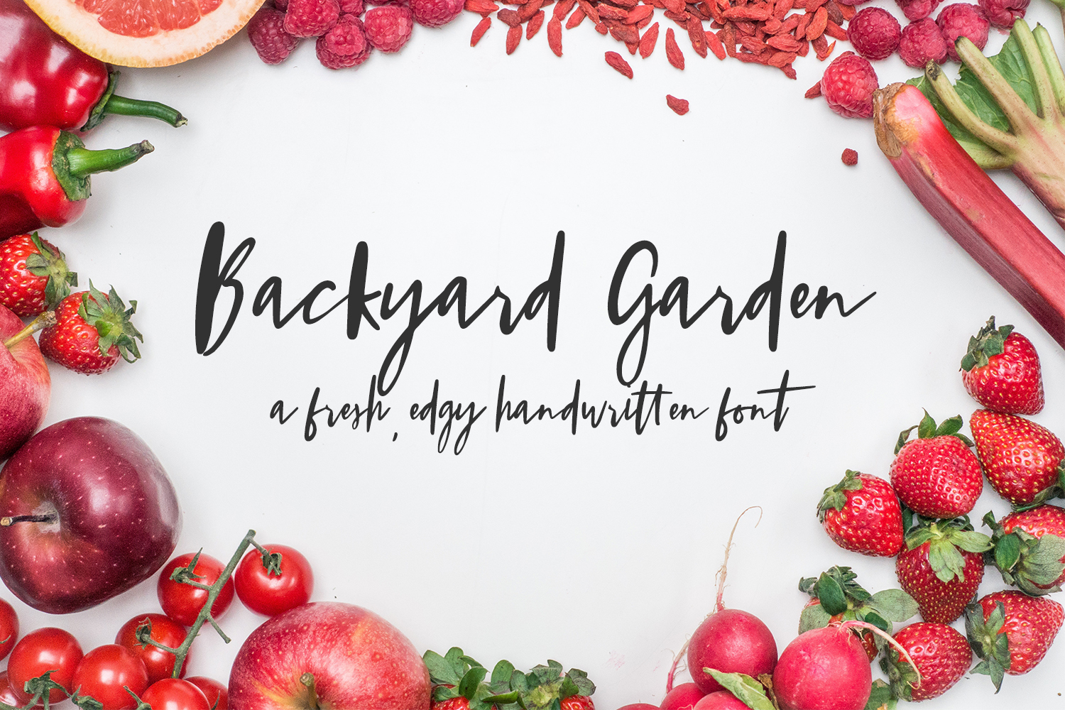 Print on Demand: Backyard Garden Script & Handwritten Font By BeckMcCormick