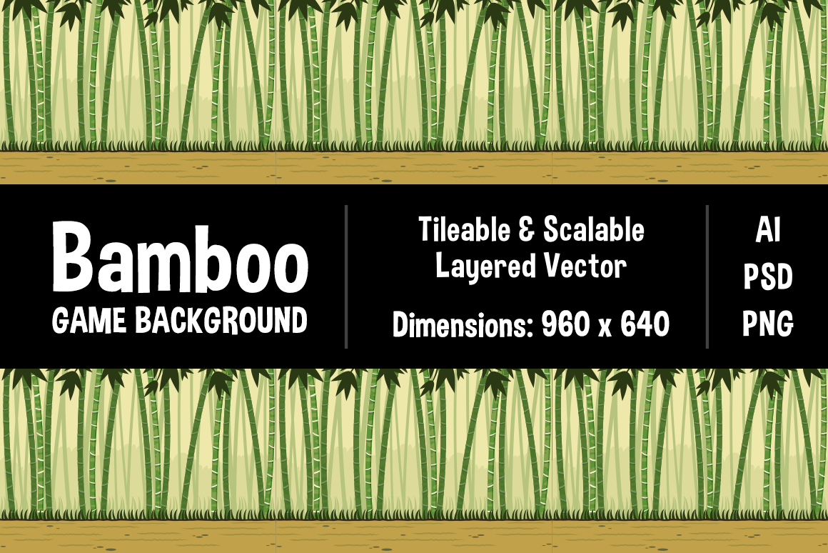 Bamboo Forest Game Background Graphic Backgrounds By The Stock Croc