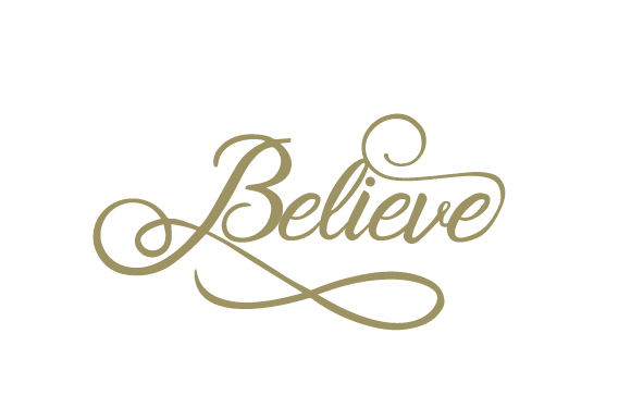 Believe Religious Craft Cut File By Creative Fabrica Crafts - Image 1