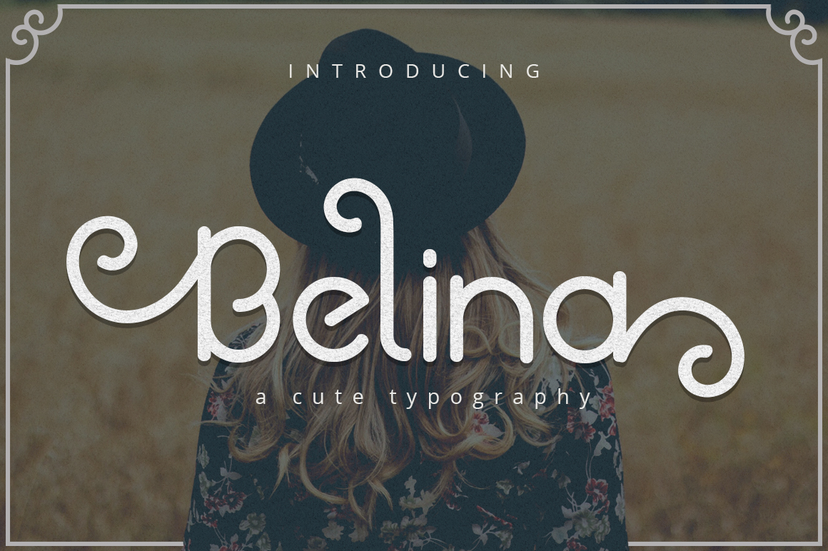 Print on Demand: Belina Display Font By josgandos