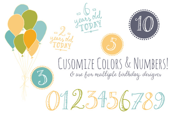 Download Free Birthday Overlays Graphic By The Pen And Brush Creative Fabrica for Cricut Explore, Silhouette and other cutting machines.