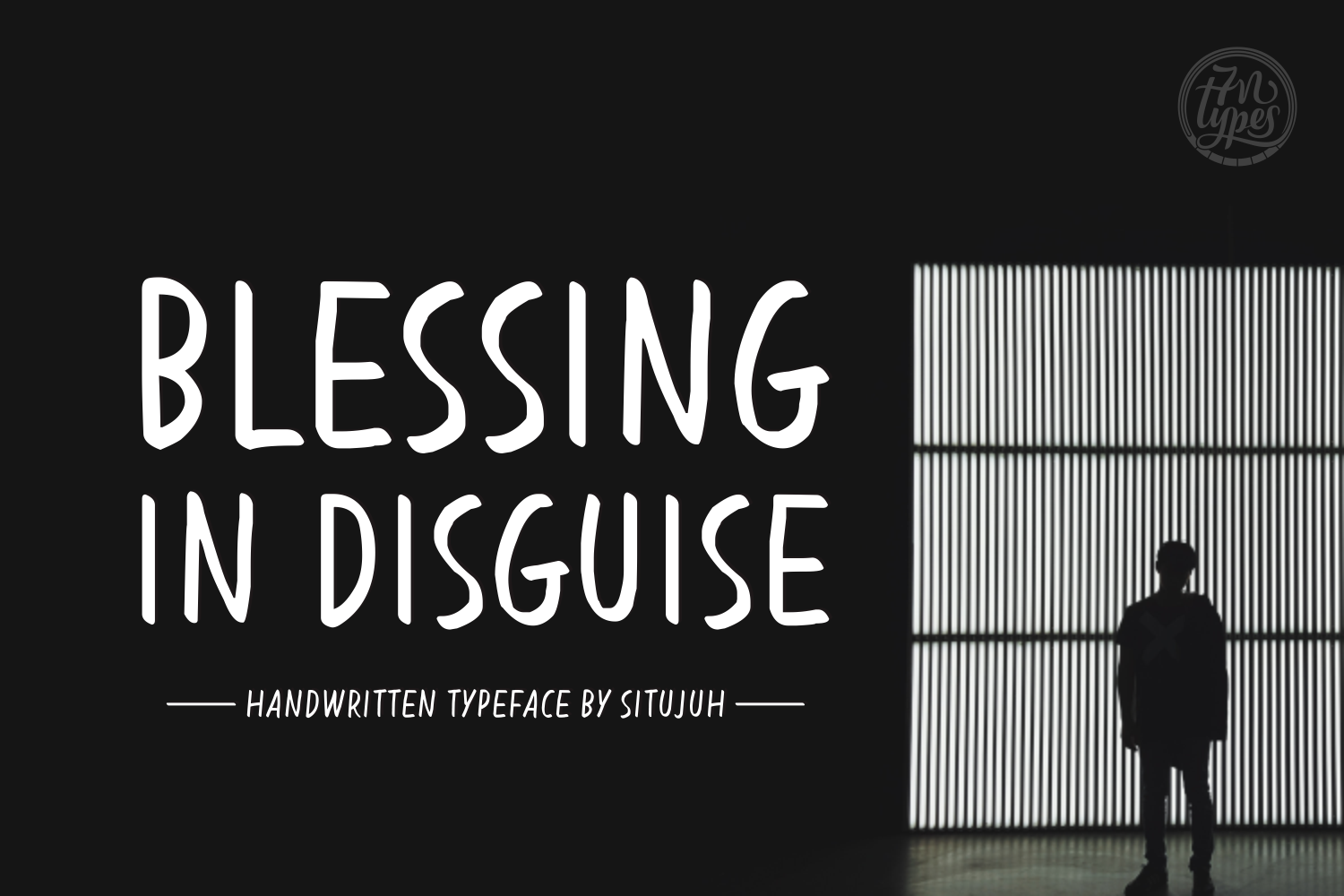 Print on Demand: Blessing in Disguise Script & Handwritten Font By Situjuh - Image 1