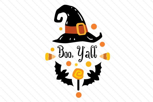 Download Free Boo Y All Svg Cut File By Creative Fabrica Crafts Creative Fabrica for Cricut Explore, Silhouette and other cutting machines.