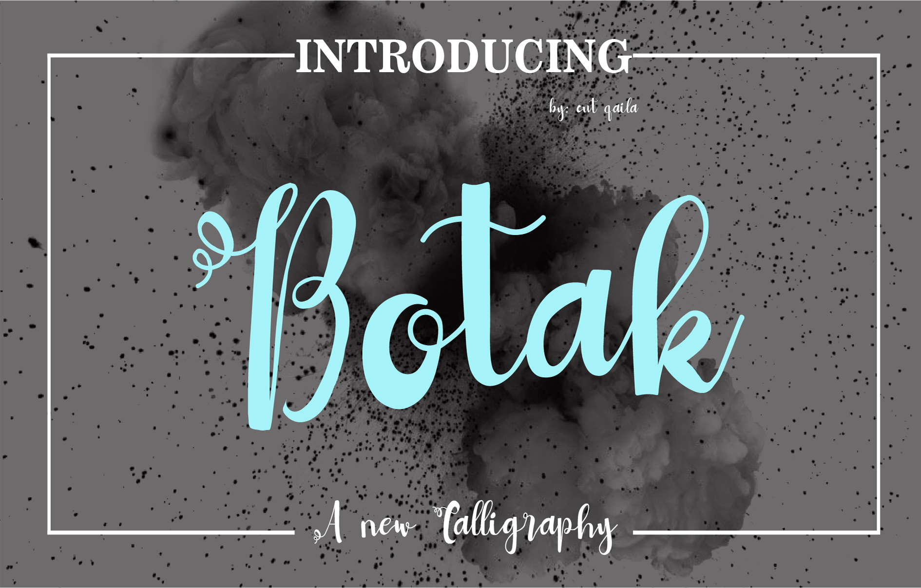 Print on Demand: Botak Script & Handwritten Font By ed.creative