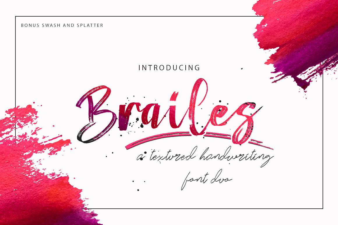 Brailes Font By missinklab Image 1