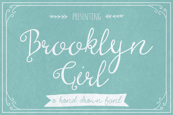 Print on Demand: Brooklyn Girl Script & Handwritten Font By The Pen and Brush