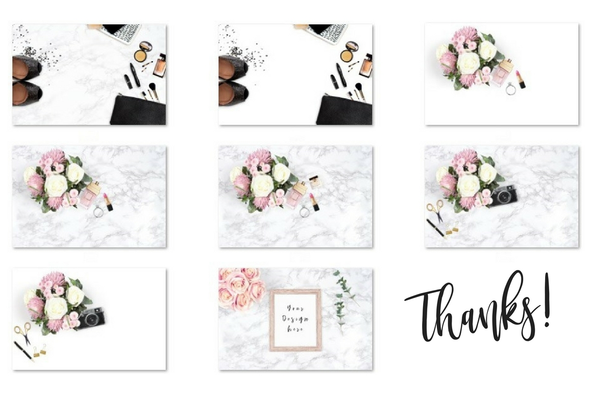 Bundle with Feminine Styled Stock Graphic Product Mockups By Creative Stash - Image 5