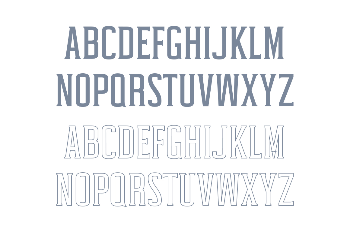 Print on Demand: Cabales Serif Font By Creative Tacos - Image 2