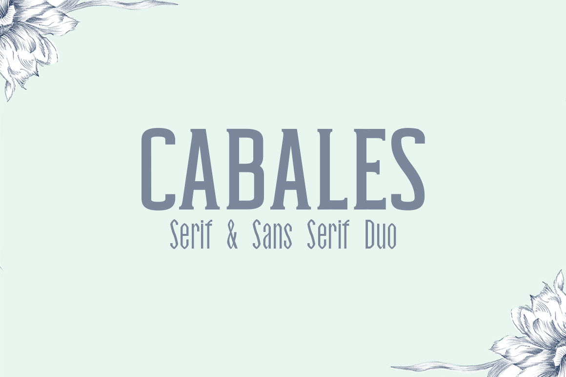 Download Free Cabales Font By Creative Tacos Creative Fabrica for Cricut Explore, Silhouette and other cutting machines.