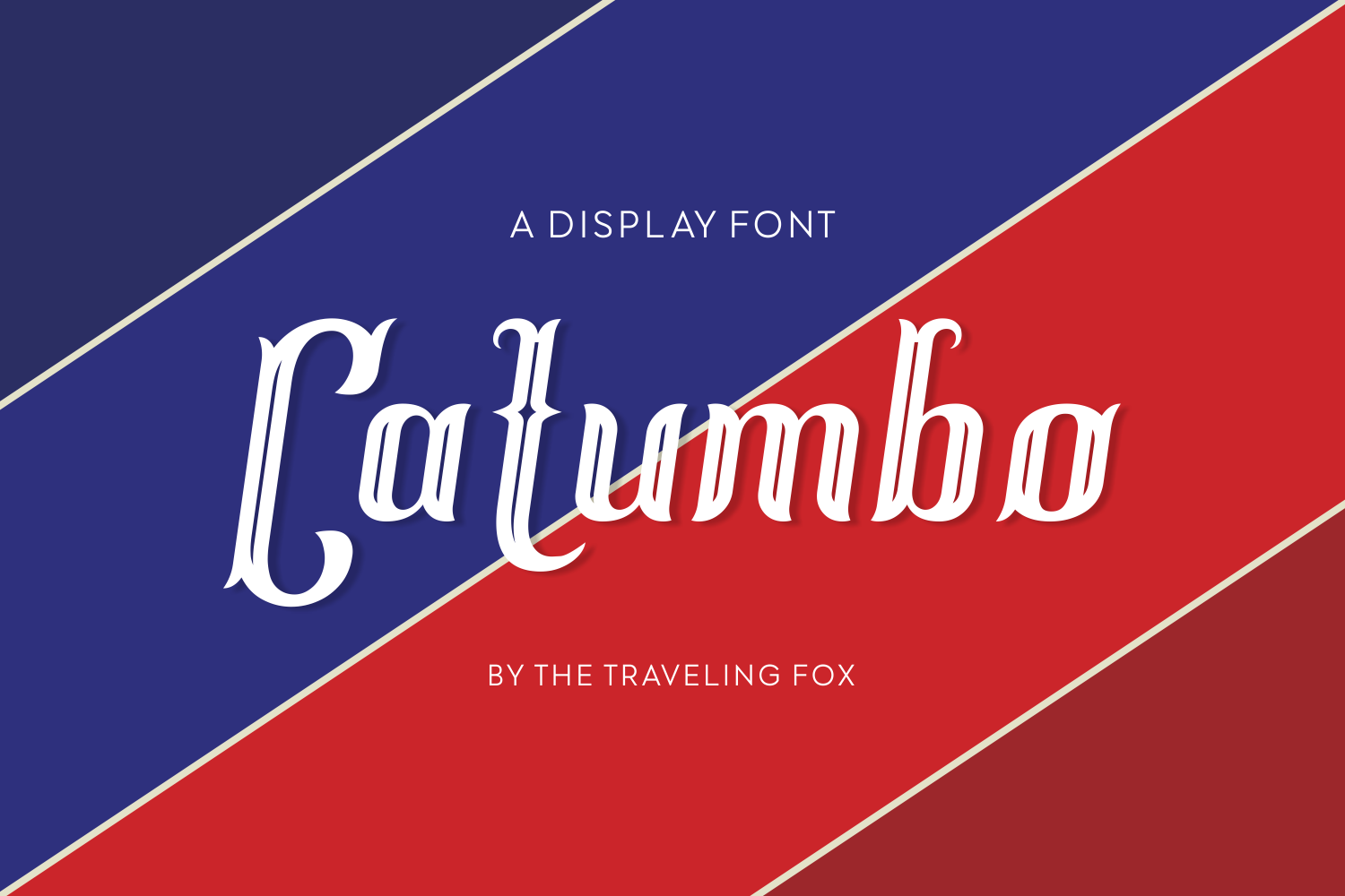 Print on Demand: Catumbo Display Font By The Traveling Fox