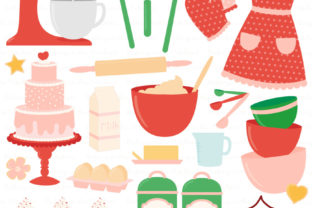 Cherry Bomb Baking in the Kitchen Graphic Illustrations By Amanda Ilkov
