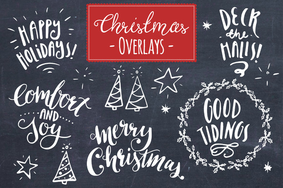 christmas overlays set 8 - Christmas Overlays