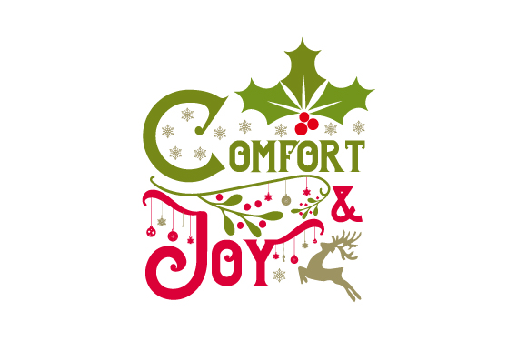Download Free Comfort Joy Svg Cut File By Creative Fabrica Crafts Creative for Cricut Explore, Silhouette and other cutting machines.