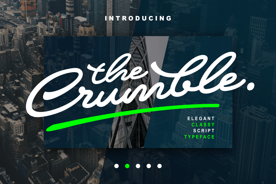 Print on Demand: Crumble Script & Handwritten Font By Subqi Std
