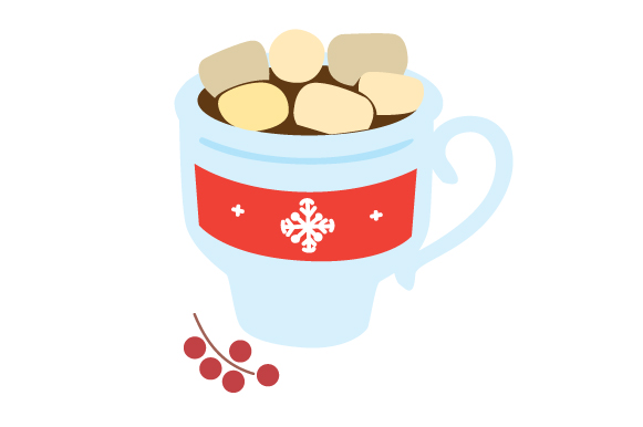 Download Free Cup Of Hot Chocolate Svg Cut File By Creative Fabrica Crafts for Cricut Explore, Silhouette and other cutting machines.