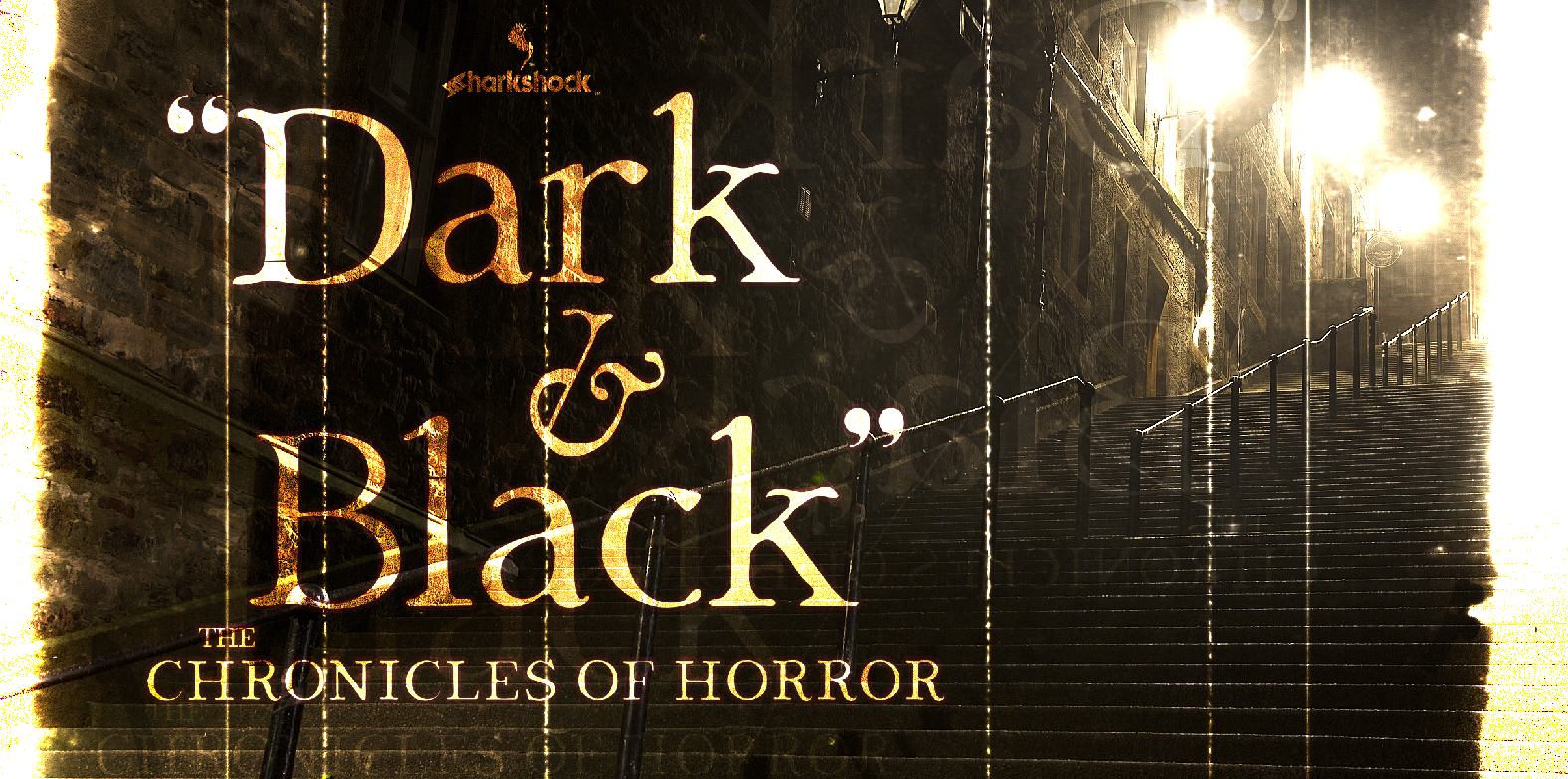 Print on Demand: Dark & Black Display Font By Sharkshock