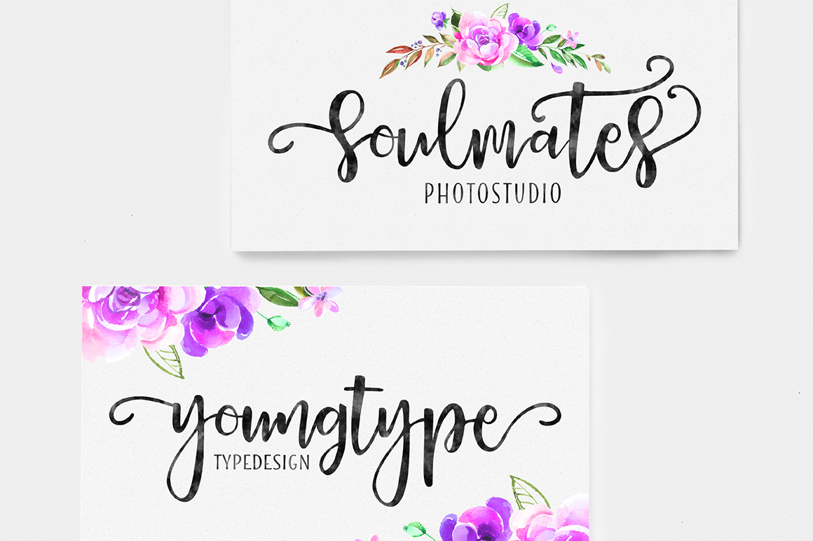 Print on Demand: Delaney Script Script & Handwritten Font By Youngtype - Image 3