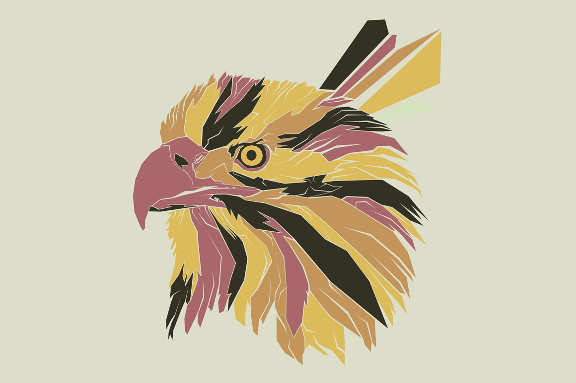 Print on Demand: Eagle Pop Art Illustration Graphic Illustrations By Gblack Id