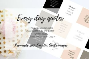 Download Free Every Day Quotes Graphic By Creative Stash Creative Fabrica for Cricut Explore, Silhouette and other cutting machines.