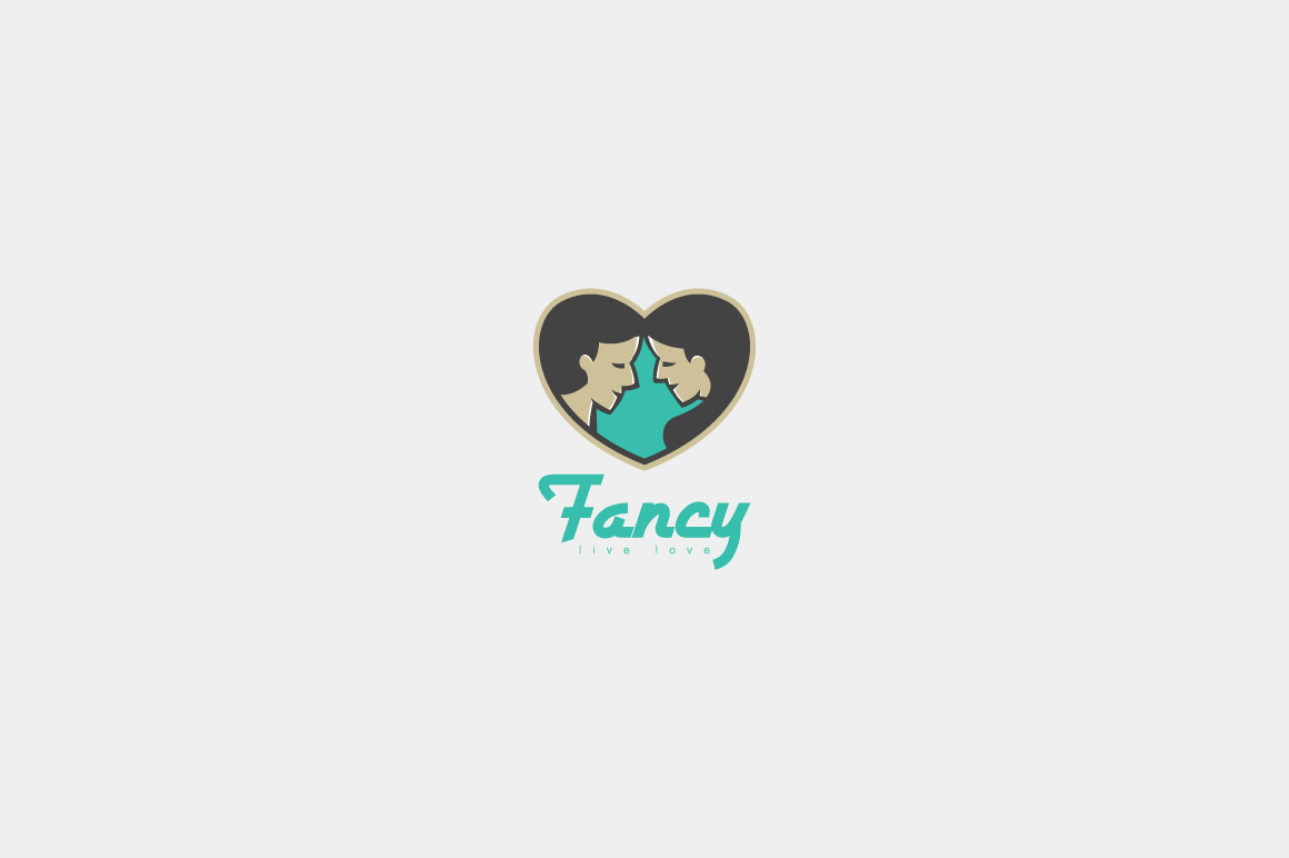 Fancy Logo Template Graphic Logos By KreasiMalam
