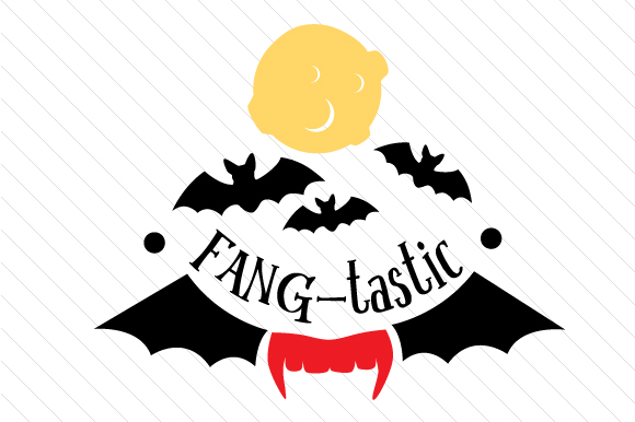 Fang Tastic Halloween Craft Cut File By Creative Fabrica Crafts
