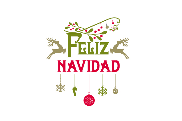 Feliz Navidad Christmas Craft Cut File By Creative Fabrica Crafts