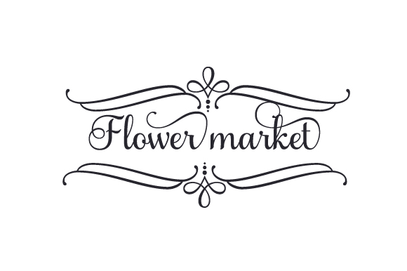 Download Free Flower Market Svg Cut File By Creative Fabrica Crafts Creative for Cricut Explore, Silhouette and other cutting machines.