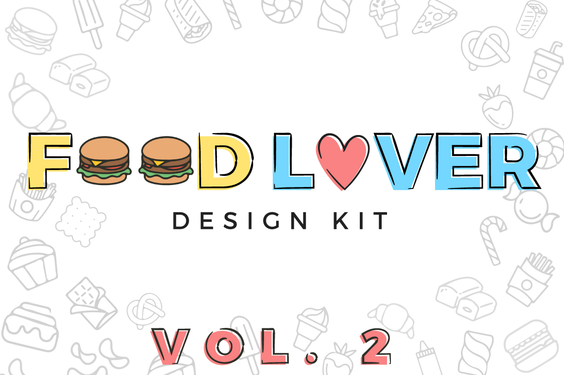 Print on Demand: Food Lover Pack Volume 2 Graphic Illustrations By Latin Vibes