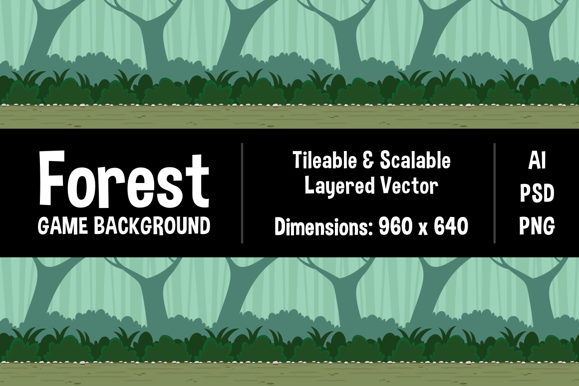 Forest Game Background Graphic Backgrounds By The Stock Croc