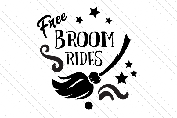 Download Free Free Broom Rides Svg Cut File By Creative Fabrica Crafts for Cricut Explore, Silhouette and other cutting machines.