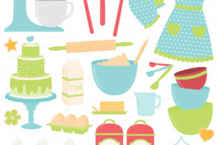 Download Free Fresh Boy Baking In The Kitchen Graphic By Amanda Ilkov SVG Cut Files
