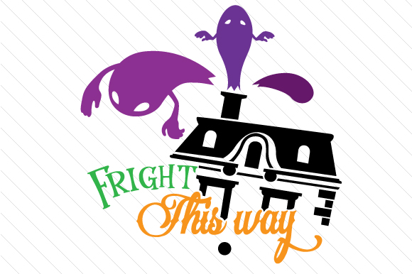 Fright This Way Halloween Craft Cut File By Creative Fabrica Crafts