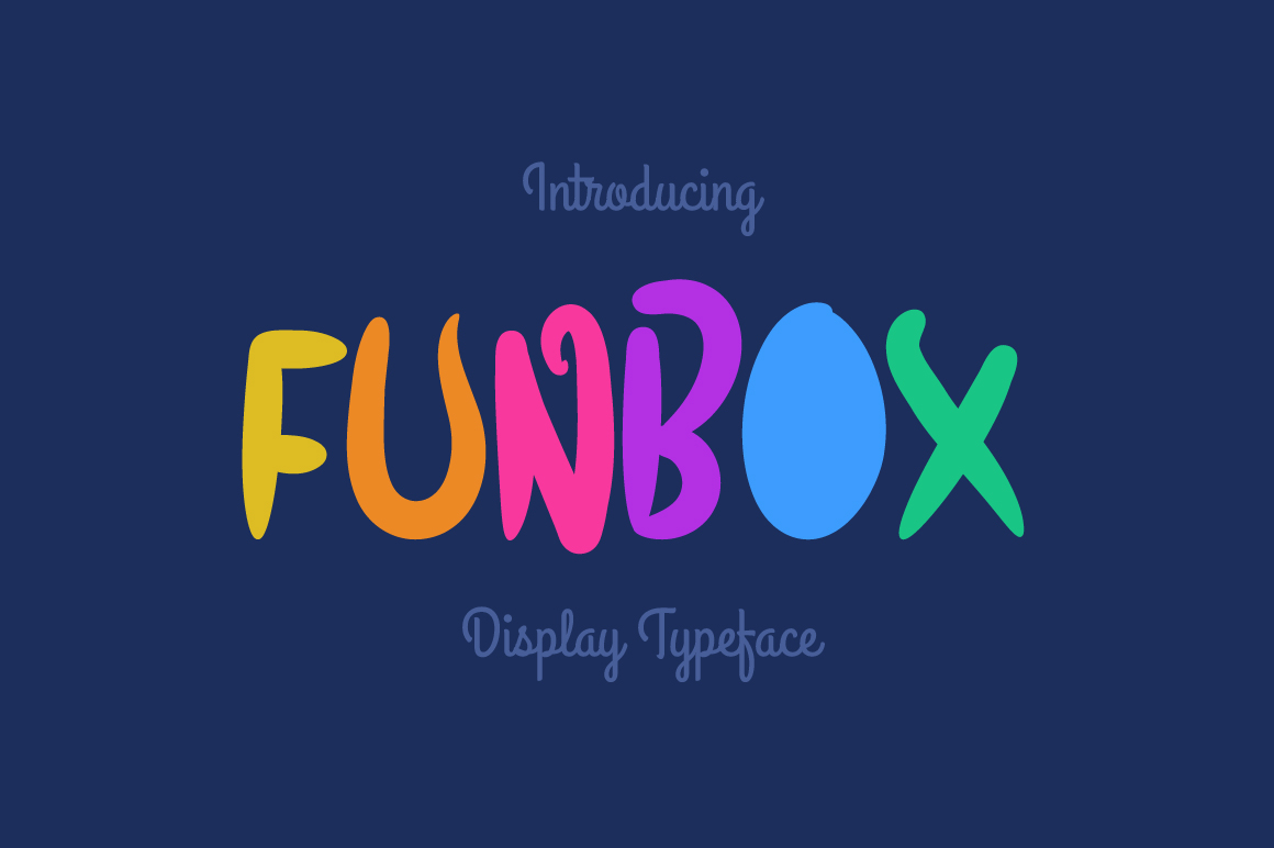 Print on Demand: Funbox Display Font By Contour Fonts