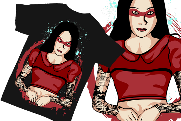Print on Demand: Ghost Lady Shushu Illustration Graphic Illustrations By Gblack Id