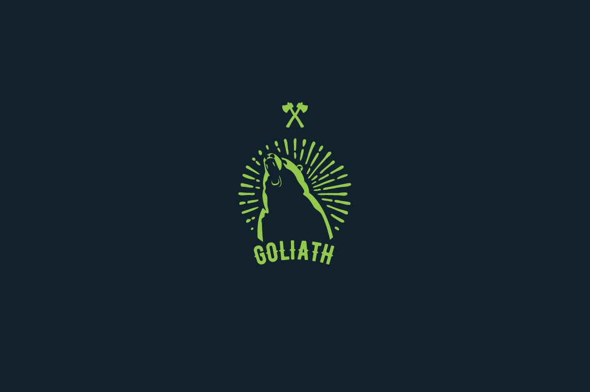 Goliath Logo Template