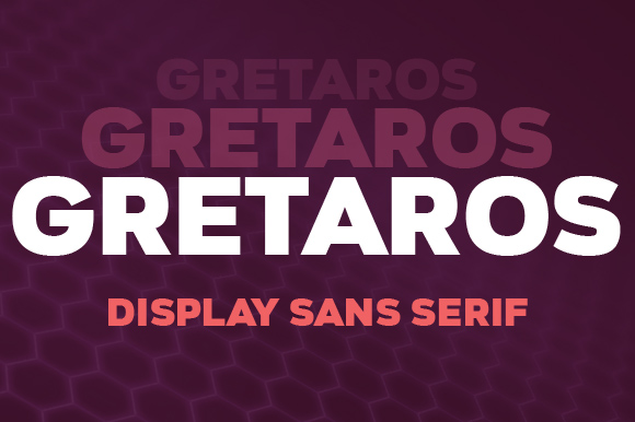Print on Demand: Gretaros Sans Serif Font By Deepak Dogra