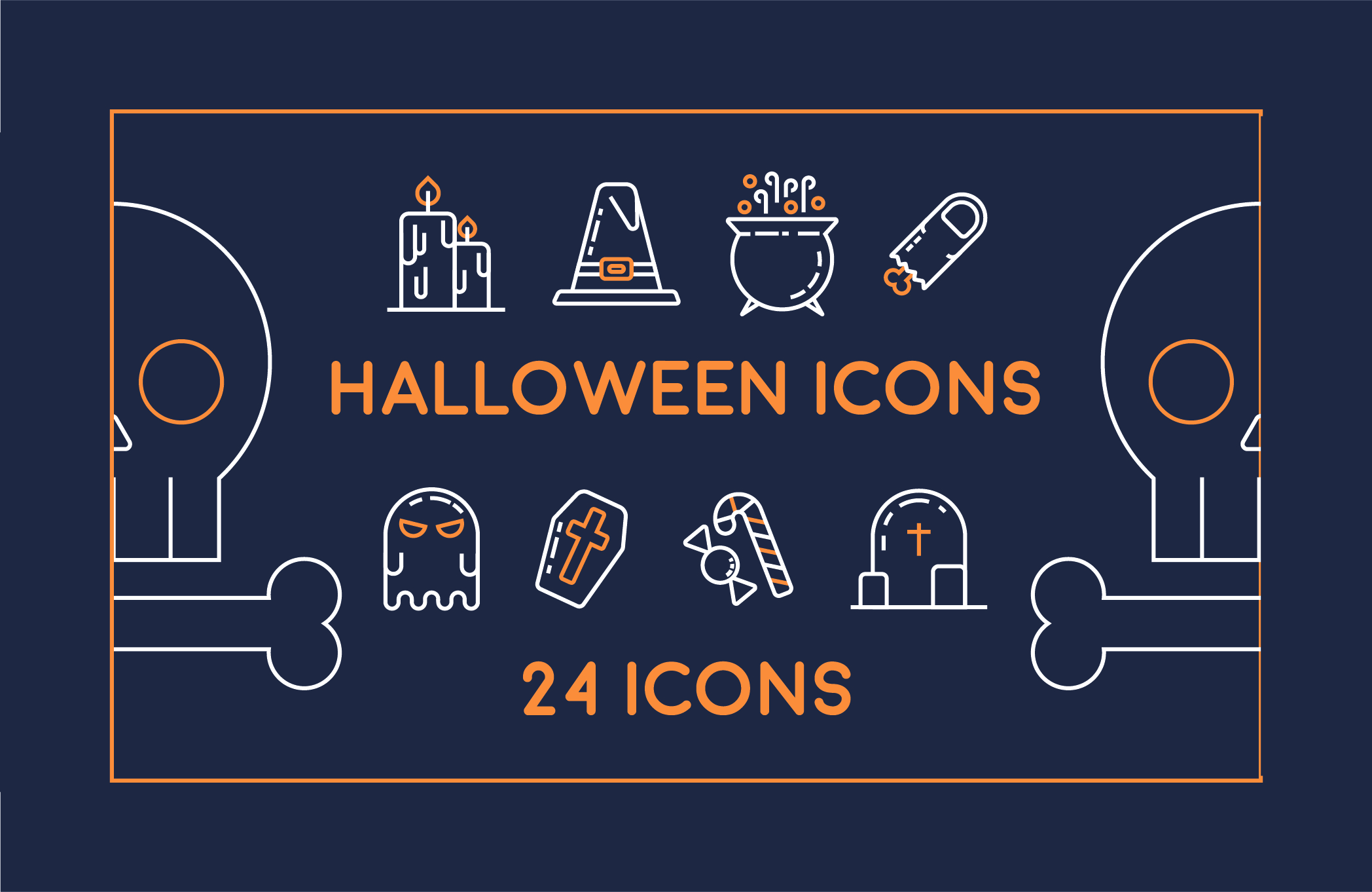 Halloween Icon Pack Graphic Icons By Mike Hill