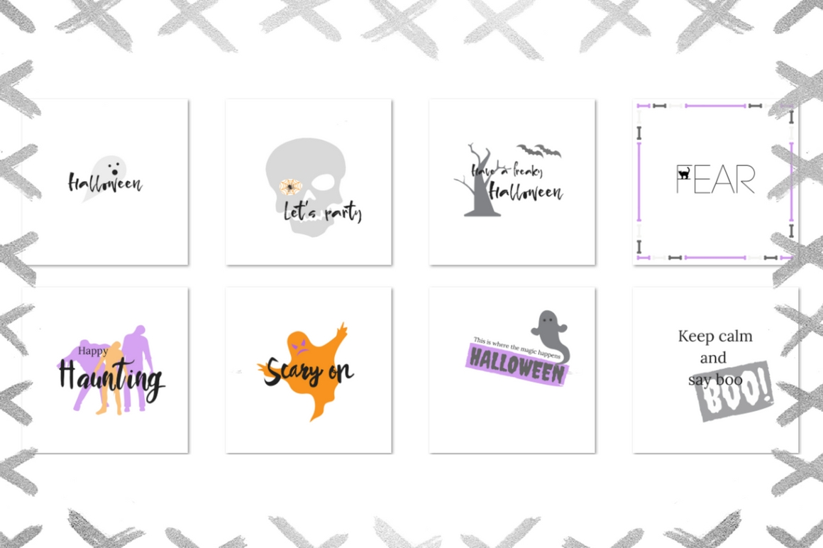 Halloween Lettering Pack Graphic Illustrations By Creative Stash - Image 3