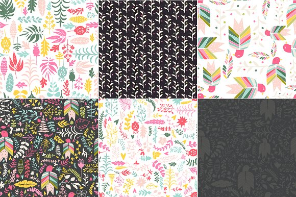 Hand Drawn Floral Set Graphic Illustrations By Favete Art - Image 4