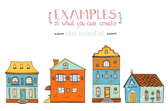 Hand Drawn House Elements Graphic Illustrations By Favete Art - Image 5
